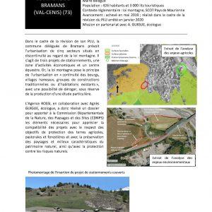 Commune de Bramans - Dossier CDNPS