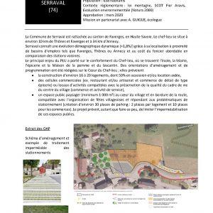 Commune de Serraval - Révision générale du PLU