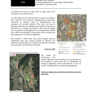Commune de Cevins - Révision générale du PLU
