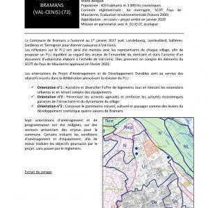 Commune de Bramans - Elaboration du PLU